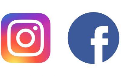 Compte Instagram et page Facebook
