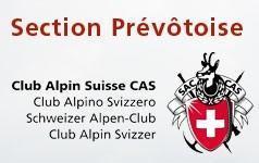 Logo de la section prevotoise du club alpin suisse